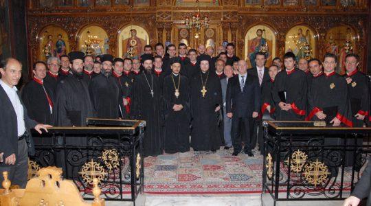 Ιερά Αρχιεπισκοπή Αθηνών - Συναυλία στον Ι.Ν. Αγ. Γεωργίου (Χαροκόπου) Καλλιθέας.