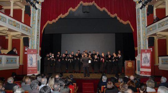 Εμφάνιση στα Πρωτοκλήτεια 2009 μαζί με την Πολυφωνική χορωδία Πατρών