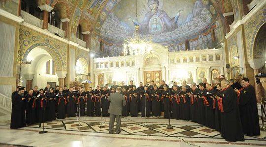 23-11-2014: Συναυλία της χορωδίας Θεόδωρος Φωκαεύς προς τιμήν Α.Μ. της Μ.τ.Χ.Ε. Δ. Παϊκόπουλου στα Πρωτοκλήτεια 2014.