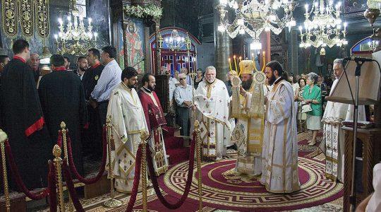 Εορταστικές εκδηλώσεις του Ι. Ν. Κοιμήσεως Θεοτόκου Περιβλέπτου Ιωαννίνων προς τιμή του Αγ. Κοσμά του Αιτωλού