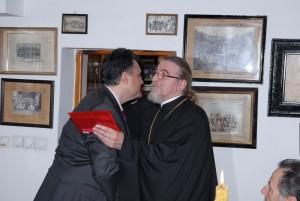 10-05-2010 Στην Θεολογική Σχολή, τον Καθεδρικό Ναό και το Πατριαρχείο του Βελιγραδίου