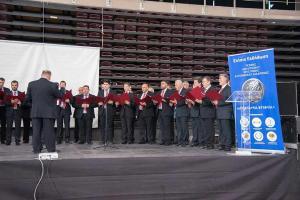Στην εκδήλωση τιμήθηκε ο γνωστός μουσικοσυνθέτης Δήμος Μούτσης και η 42μελής χορωδία «Θεόδωρος Φωκαεύς», τραγούδησε, μετά την βράβευσή του, 4 γνωστά τραγούδια του, αποσπώντας το θερμό χειροκρότημα των παρευρισκομένων.