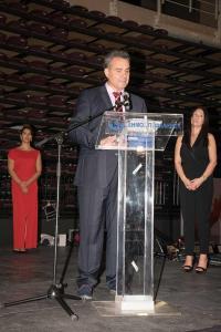 Όπως δήλωσε στην ομιλία του ο κ. Γεώργιος Βέργος, «Αποτελεί μεγίστη τιμή για εμάς η σημερινή βράβευση στα «Απολλώνεια βραβεία»,  αλλά και μεγάλη χαρά η σημερινή μας συνεύρεση σ' αυτό τον χώρο, με την ευχάριστη επιφόρτιση του χορού μας, της μουσικής επιμέλειας της αποψινής εκδήλωσης».