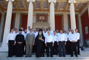 19-7-2015: Θεία Λειτουργία στον Ι.Ν. Αγ. Νικολάου Ερμουπόλεως